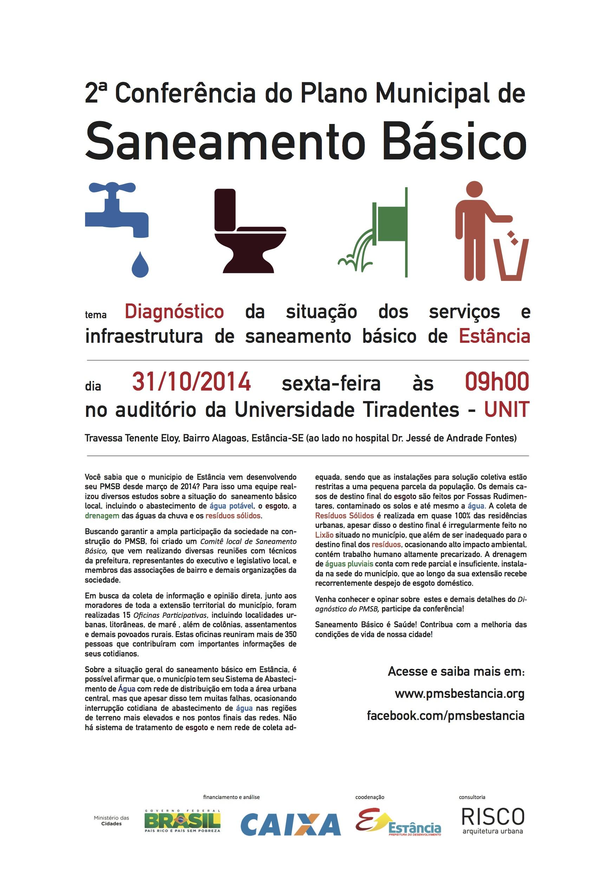 Populares PMSB Estância SE | Plano municipal de saneamento básico de Estância SE EB33