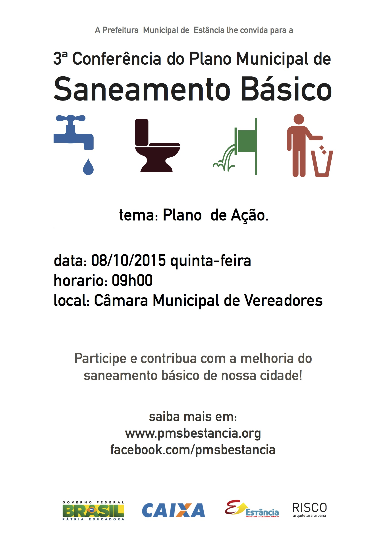 Famosos PMSB Estância SE | Plano municipal de saneamento básico de Estância SE QI32